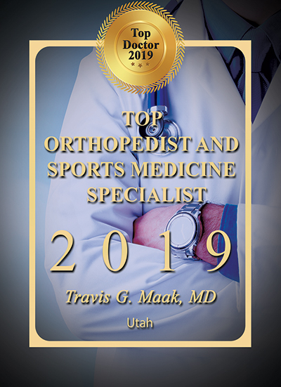 Top Doctor for 2019 in Orthopaedics and Sports medicine